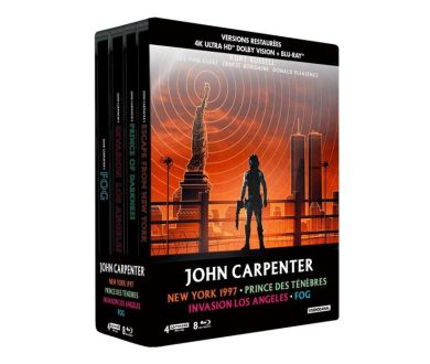 John Carpenter : Un coffret Collector 4K Ultra HD Blu-ray le 2 octobre en France