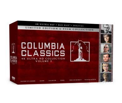 MAJ : Officialisation du Columbia Classics Collection - Volume 2 (Taxi Driver, The Social Network)