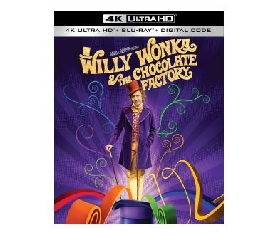 Charlie et la Chocolaterie (1971) en 4K Ultra HD Blu-ray dès le 28 juin 2021