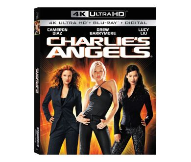 Charlie's Angels et sa suite en 4K Ultra HD Blu-ray le 22 octobre
