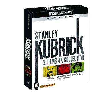 Kubrick : Un coffret 4K Ultra HD Blu-ray regroupant 2001, Shining et Full Metal Jacket