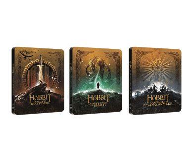 Le Hobbit : La trilogie en Steelbook 4K Ultra HD Blu-ray en France le 2 décembre