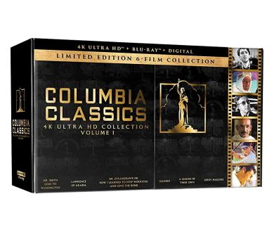 Lawrence d'Arabie, Gandhi, Jerry Maguire... le 16 juin dans un coffret 4K Ultra HD Blu-ray !