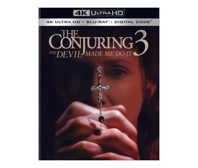 Conjuring 3 : Sous l'emprise du Diable dès le 24 août aux USA en 4K Ultra HD Blu-ray