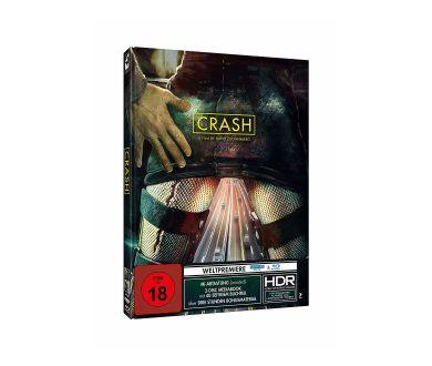 Crash de David Cronenberg le 21 octobre en France en 4K Ultra HD Blu-ray