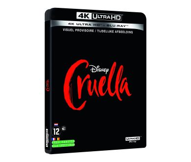 MAJ : Cruella (2021) en 4K Ultra HD Blu-ray fin octobre chez Disney France