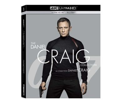 James Bond 007 - Daniel Craig en 4K Ultra HD Blu-ray : Les détails !