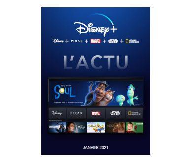 Disney+ France : Voici le programme des nouveautés d'Avril 2021