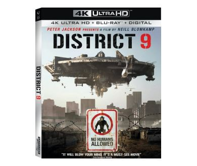 District 9 lancé le 13 octobre en 4K Ultra HD Blu-ray chez Sony Pictures