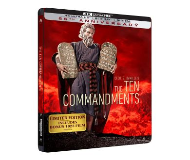 Les Dix Commandements de Cecil B. DeMille en Steelbook 4K limité le 1er décembre