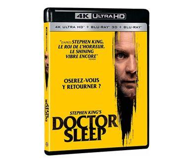 Doctor Sleep : le 11 mars 2020 en 4K Ultra HD Blu-ray