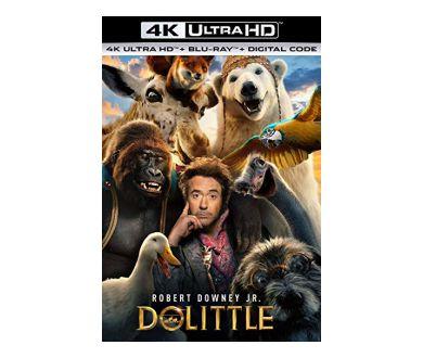 Dolittle de Stephen Gaghan en 4K Ultra HD Blu-ray à partir du 7 avril prochain