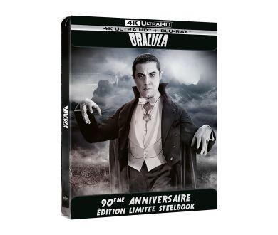 Dracula (1931) en Steelbook 4K Ultra HD Blu-ray en France le 6 octobre
