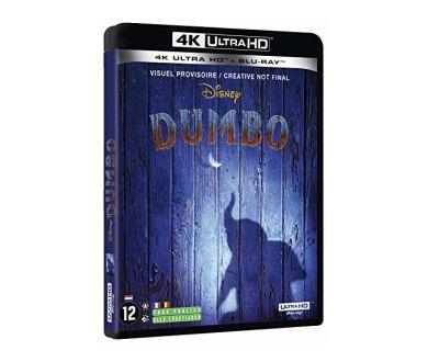 Dumbo en 4K Ultra HD Blu-ray : le 25 juin aux USA, le 31 août en France