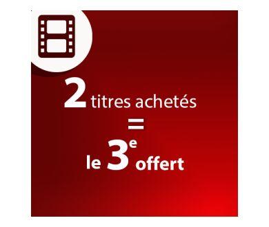 2 Blu-ray 4K achetés = le 3ème offert jusqu'au 15 mars 2021