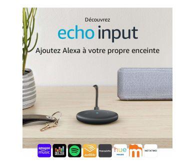 Alexa sur toutes les enceintes : Amazon lance en France l'Echo Input !