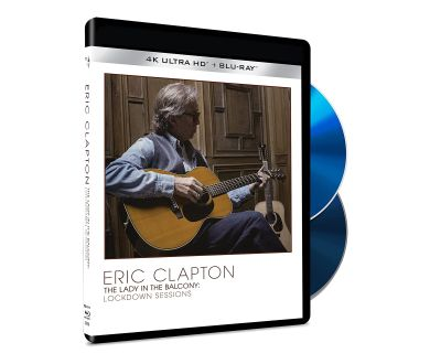 Eric Clapton : The Lady In The Balcony (Lockdown Sessions) dès novembre en 4K Blu-ray