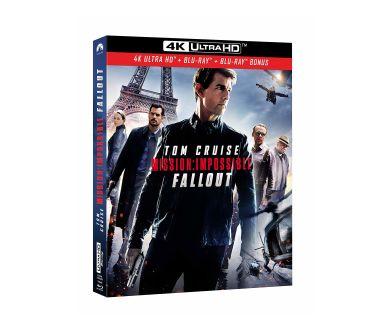 Mission: Impossible Fallout : Ultra HD Blu-ray pour 21% des ventes de vidéo disque