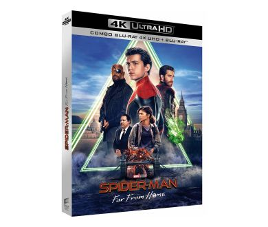Spider-Man : Far from Home : Le 13 novembre en 4K Ultra HD Blu-ray