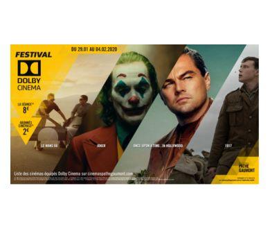 Festival Dolby Cinema : En France du 29 janvier au 4 février prochain