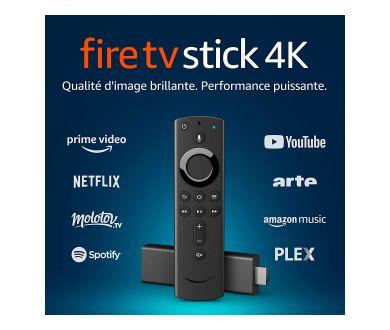 Molotov : 3 mois à l'option Molotov Plus offerts pour l'achat d'un Fire TV Stick 4K