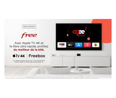 L'Apple TV 4K désormais proposé aux différents abonnés Freebox