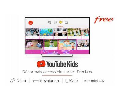 YouTube Kids débarque sur les différentes Freebox