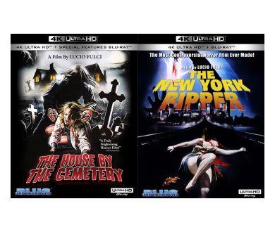 La Maison Près du Cimetierre et L'Éventreur de New York officialisés en 4K Ultra HD Blu-ray