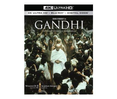 Gandhi aperçu en édition 4K Ultra HD Blu-ray individuelle pour juillet