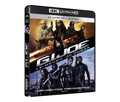 MAJ : G.I. Joe : Les deux films officialisés en 4K Ultra HD Blu-ray