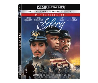 Glory (1989) officialisé en 4K Ultra HD Blu-ray chez Sony Pictures