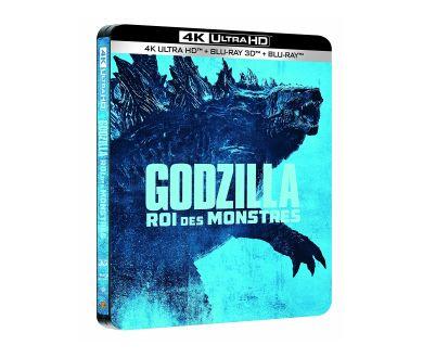 Godzilla 2, Roi des Monstres en Blu-ray 4K : Dolby Vision, HDR10+, et Atmos sur VO et VF !