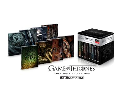 Intégrale Game of Thrones : Sortie officielle aux USA en 4K Ultra HD Blu-ray le 3 novembre