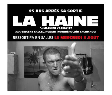 La Haine (Remasterisation 4K 25ème anniversaire) : De retour au cinéma le 5 août