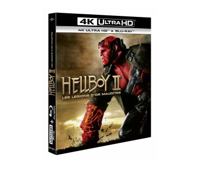Hellboy II : Détails de l'édition 4K Ultra HD Blu-ray (le 15 mai)