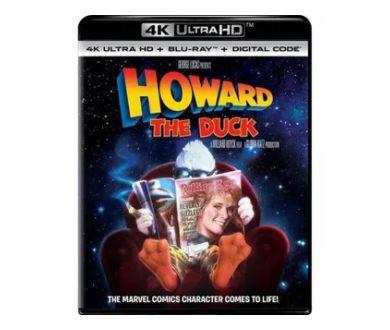 Howard The Duck aperçu en 4K Ultra HD Blu-ray (le 6 juillet 2021)