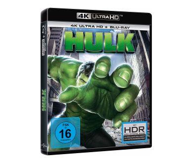 Hulk (2003) en avril 2020 en France en 4K Ultra HD Blu-ray