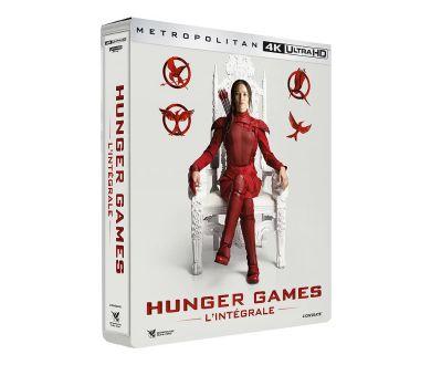Hunger Games : L'intégrale de la saga en Steelbook 4K Ultra HD Blu-ray en décembre