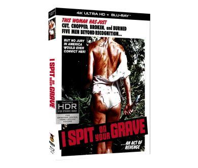 I Spit On Your Grave (1978) en 4K Ultra HD Blu-ray dès le 26 octobre aux USA