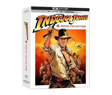 Précommandes : Intégrale Indiana Jones en 4K Ultra HD Blu-ray le 9 juin en France