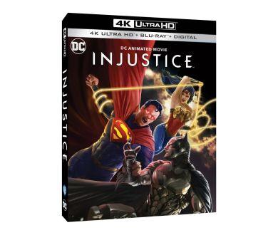 Injustice (2021) en édition 4K Ultra HD Blu-ray et Steelbook Blu-ray fin octobre