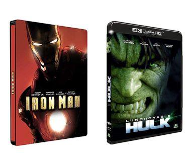 L'Incroyable Hulk et Iron Man chez M6 Vidéo : Détails des éditions 4K Blu-ray