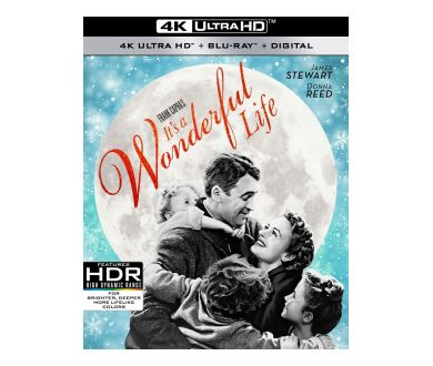 It's a Wonderful Life (1946) officialisé en 4K Ultra HD Blu-ray chez Paramount