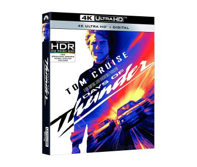 MAJ FRANCE : Jours de Tonnerre (Days of Thunder) en 4K Ultra HD Blu-ray le 19 mai