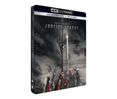 MAJ : Zack Snyder's Justice League : 4K Ultra HD Blu-ray et Steelbook collector