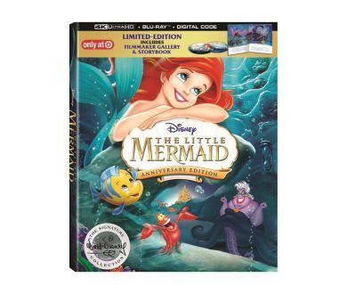 La Petite Sirène en 2019 en 4K Ultra HD Blu-ray pour son 30ème anniversaire