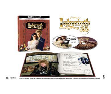 Labyrinthe (1986) : Une nouvelle édition 4K Ultra HD Blu-ray pour ses 35 ans