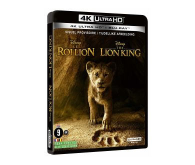 Le Roi Lion (2019) aussi en 4K Ultra HD Blu-ray (édition Steelbook)