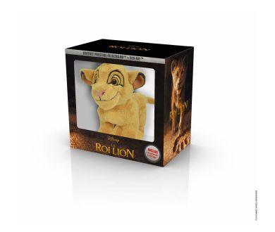 Le Roi Lion (2019) : Un coffret Prestige 4K Ultra HD Blu-ray avec peluche Simba