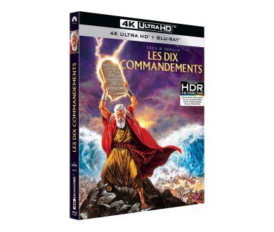 French Days [4K UHD Blu-ray] : Simetierre, Les 10 Commandements et Coffret Nolan